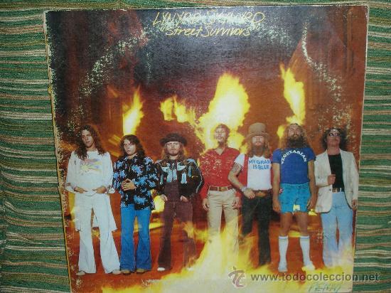 LYNYRD SKYNYRD - STREET SURVIVORS LP - ORIGINAL U.S.A FLAMES COVER - MCA 1977 DOBLE PORTADA (Música - Discos - LP Vinilo - Pop - Rock Extranjero de los 50 y 60)