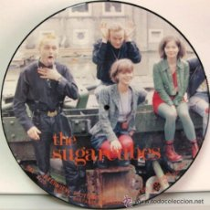 Discos de vinilo: SUGARCUBES / BJORK * LP PICTURE DISC * INTERVIEW * NUEVO * UK. Lote 53936592