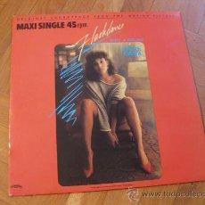 Discos de vinilo: FLASHDANCE - IRENE CARA - WHAT A FEELING - LP MAXI-SINGLE. Lote 22474320