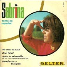 Discos de vinilo: SABRINA CANTA EN ESPAÑOL EP SELLO BELTER AÑO 1967. Lote 22488866