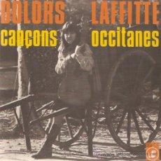 Discos de vinilo: EP DOLORS LAFFITTE CANÇONS OCCITANES -CARRERS SEGUEIXO-LLEGUENDA DE DOLOR-AQUI-CANCO DEL MARINER. Lote 22526098