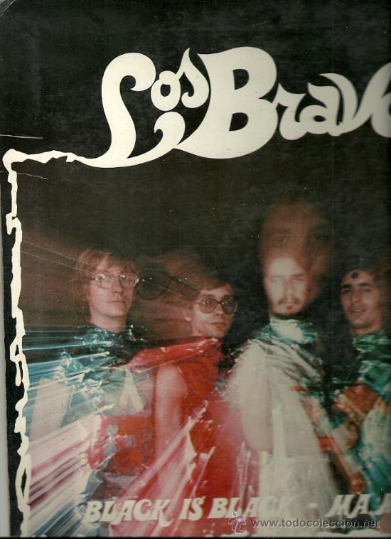 LOS BRAVOS LP SELLO ALHAMBRA EDITADO EN CHILE (Música - Discos - LP Vinilo - Grupos Españoles 50 y 60)