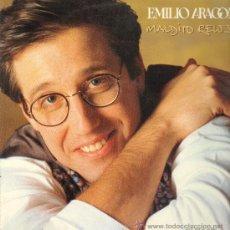 Disques de vinyle: EMILIO ARAGÓN - MALDITO RELOJ - MAXISINGLE 1992. Lote 22571607