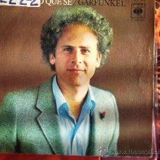 Discos de vinilo: GARKUNKEL-TODO LO QUE SE-MARY FUE HIJA UNICA--SINGLE 45 RPM-1973-. Lote 22579776