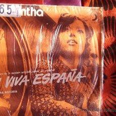 Discos de vinilo: SAMANTHA-Y VIVA ESPAÑA-NUESTRA HISTORIA-SINGLE 45 RPM-1973-. Lote 22580557