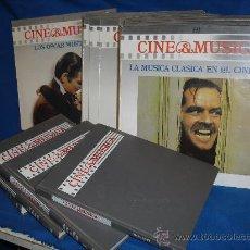 Discos de vinilo: CINE & MÚSICA. LAS OBRAS MAESTRAS DEL CINE. SALVAT 1988. 60 DISCOS Y 4 LIBROS. Lote 27217446