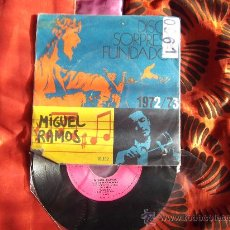 Discos de vinilo: MIGUEL RAMOS-HOY DARIA YO LA VIDA-MAMY BLUE-COCO-LOS REYES MAGOS-DISCO FUNDADOR-SINGLE 45 RPM-1972. Lote 23255669