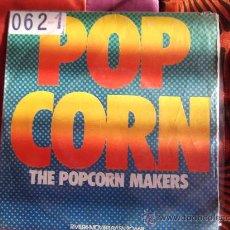 Discos de vinilo: THE POPCORN MAKERS-POP CORN-SINGLE 45 RPM-1972. Lote 23620143