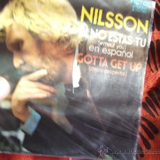 Discos de vinilo: NILSSON-SI NO ESTAS TU-EN ESPAÑOL-SINGLE 45 RPM-1970. Lote 23620159