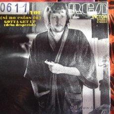 Discos de vinilo: NILSSON-SI NO ESTAS TU--SINGLE 45 RPM-1970. Lote 23620173