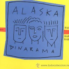 Discos de vinilo: LP MAXI 45 RPM / ALASKA / BAILANDO // EDITADO POR HISPAVOX. Lote 26572568