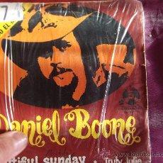 Discos de vinilo: DANIEL BOONE-BEAUTIFUL SUNDAY-SINGLE 45 RPM-1972-. Lote 23619574
