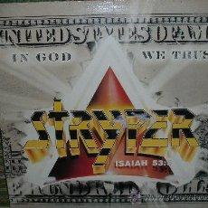 Discos de vinilo: STRYPER - IN GOD WE TRUST LP - ORIGINAL CANADA - ENIGMA RECORDS 1988 - CON MINIPOSTER. Lote 55688661