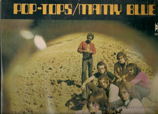 POP-TOPS LP SELLO ORFEON EDITADO EN MEXICO (Música - Discos - LP Vinilo - Grupos Españoles 50 y 60)