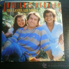 Discos de vinilo: JOSE LUIS PERALES QUE CANTEN LOS NIÑOS SINGLE VINILO. Lote 22596089
