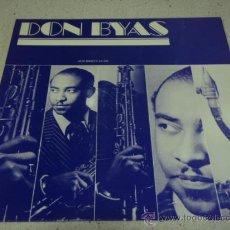 Discos de vinilo: DON BYAS - 1945, SWEDEN LP JAZZ SOCIETY. Lote 22607853