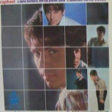 Discos de vinilo: RAPHAEL - CUANDO TÚ NO ESTÁS - EP, 1966 (EXCELENTE CONSERVACIÓN). Lote 25345721