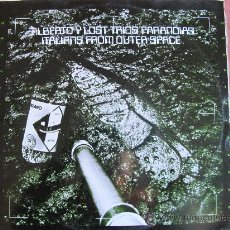 Discos de vinilo: LP - ALBERTO Y LOST TRIOS PARANOIAS - ITALIANS FROM OUTER SPACE . Lote 26735245
