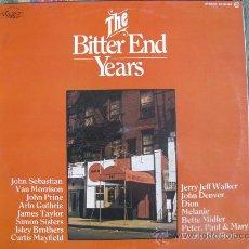 Discos de vinilo: LP - THE BITTER END YEARS - VARIOS - CHELSEA RECORDS 1976. Lote 22668577