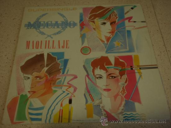 MECANO ( MAQUILLAJE - NAPOLEON - SUPER-RATON ) 1982-MADRID MAXI45 CBS 'DOS TEMAS INEDITOS' (Música - Discos de Vinilo - Maxi Singles - Grupos Españoles de los 70 y 80)