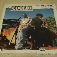 Discos de vinilo: COOLIO (COUNTY LINE) RADIO VERSION, VOCAL VERSION & INSTRUMENTAL (STICKY FINGERS) RADIO VERSION, VOC. Lote 22688323