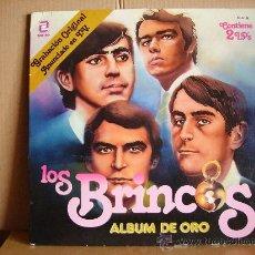 Discos de vinilo: LOS BRINCOS ---- ALBUM DE ORO. Lote 22698491