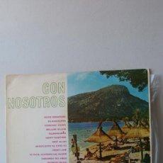 Discos de vinilo: ALFREDO DOMENECH Y SU CONJUNTO-CON NOSOTROS-ORLADOR 25 CM. Lote 26957223