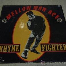 Discos de vinilo: MELLOW MAN ACE (RHYME FIGHTER + HOUSE DUB - EN LA CASA - MAS PIGNON) USA-1989 LP33 CAPITOL. Lote 22707643