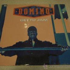 Discos de vinilo: DOMINO ( GETTO JAM ) LP VERSION - RADIO EDIT & INSTRUMENTAL ( JAM ) LP VERSION USA-1993 . Lote 22707827