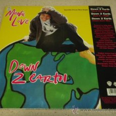 Discos de vinilo: MONIE LOVE ( DOWN 2 EARTH ) TOUCH DOWN MIX - COOL AS...MIX & COUNT DOWN MIX (DON'T FUNK WID THE MO). Lote 22709928