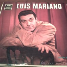 Discos de vinilo: LUIS MARIANO - LP DEL SELLO EMI REGAL DE 1.968 - VIOLETAS IMPERIALES / AMAPOLA / PEPETO. Lote 22728485