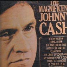 Discos de vinilo: JOHNNY CASH MAGNIFICENT. Lote 22715586