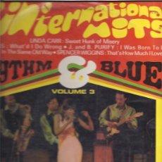 Discos de vinilo: RHYTHM & BLUES VOL 3. Lote 22716194