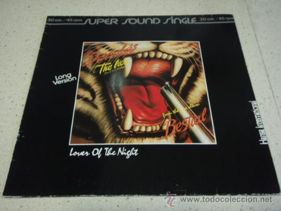 Discos de vinilo: BARRABAS ( THE LION DONT KILL THE LION - LOVER OF THE NIGHT ) 1982-GERMANY MAXI45 HANSA - Foto 1 - 22725483