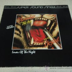Discos de vinilo: BARRABAS ( THE LION 'DON'T KILL THE LION' - LOVER OF THE NIGHT ) 1982-GERMANY MAXI45 HANSA. Lote 22725483