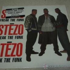 Discos de vinilo: STEZO ( FREAK THE FUNK ) DUB MIX - LP VERSION - RADIO VERSIONVOCAL MIX & INSTRUMENTAL NEW YORK-1989. Lote 22725624