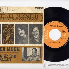 Discos de vinilo: MICHAEL NESMITH&THE FIRST NATIONAL BAND.SINGLE 45 RPM. SILVER MOON+LADYOF THE VALLEY.RCA 1971. Lote 27111068