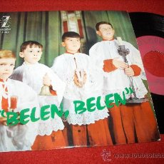 Discos de vinilo: ESCOLANIA DEL STMO. SACRAMENTO BELEN BELEN 7 EP 1964 ZAFIRO CHOIR BOYS. Lote 26786954