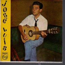 Discos de vinilo: DISCO DE JOSE LUIS Y SU GUITARRA DE PHILIPS BLANCA ESTRELLA 1959. Lote 22759902