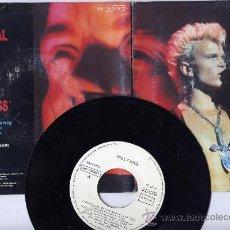 Discos de vinilo: BILLY IDOL. 45 RPM. PRODIGAL BLUES+THE LOVELESS.CHRYSALIS 1990. Lote 27593476