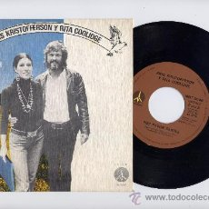 Discos de vinilo: KRIS KRISTOFFERSON Y RITA COOLIDGE. 45 RPM. LOVER PLEASE+SLOW DOWN. MONUMENT 1975. Lote 26473150
