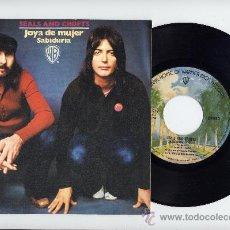 Discos de vinilo: SEALS AND CROFTS. 45 RPM. DIAMOND GIRL+WISDOM. HISPAVOX 1973. Lote 26949008