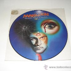Discos de vinilo: MARILLION / WARM WET CIRCLES + 2 LIVE - EP 3 TEMAS FOTODISCO (PICTURE DISC) MADE IN ENGLAND 1987. Lote 27444948
