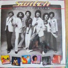 Disques de vinyle: LP - SWITCH - THIS IS MY DREAM - ORIGINAL ESPAÑOL, MOTOWN RECORDS 1980. Lote 22769951
