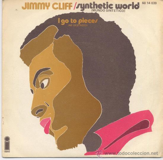JIMMY CLIFF,MUNDO SINTETICO DEL 71 (Música - Discos - Singles Vinilo - Reggae - Ska)