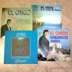 Discos de vinilo: LOTE 4 DISCOS DE FLAMENCO-ARTISTA -EL CHICO-. Lote 26591727