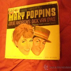 Discos de vinilo: WALT DISNEYS MARY POPPINS JULIE ANDREWS BANDA SONORA ORIGINAL CAST SOUNDTRACK LP EMI 1964 ENGLAND. Lote 145813206