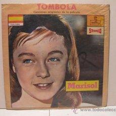 Discos de vinilo: MARISOL - TOMBOLA - RARA EDICION COLOMBIANA - MONTILLA. Lote 22845856