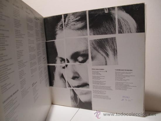 Discos de vinilo: MARISOL - MARISOL - PORTADA ABIERTA- NOVOLA / ZAFIRO 1978 - Foto 2 - 22866143