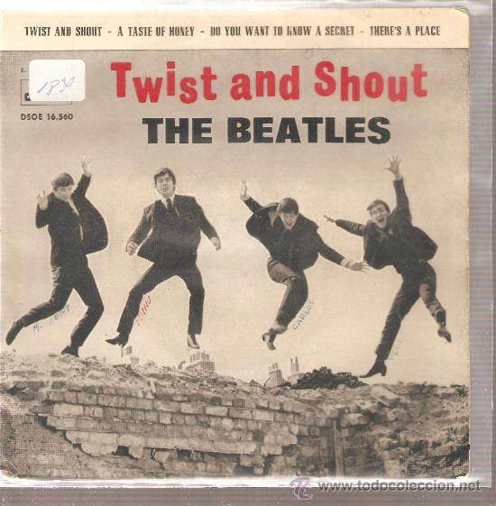 EP THE BEATLES - TWIST AND SHOUT (Música - Discos de Vinilo - EPs - Pop - Rock Internacional de los 50 y 60)